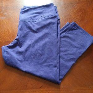 Nike Purple Capris